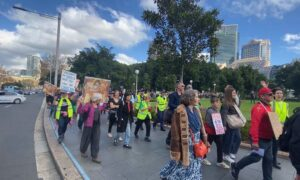 Photo of Protestors Emerge to March for Rights and Freedoms After Restrictions Lifted
