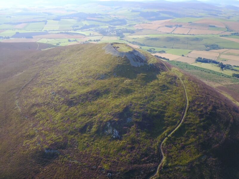 Photo of A huge Scottish hillfort was the largest settlement in medieval Britain