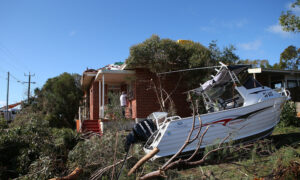 Photo of Clean-Up After Severe Storm Hits West Australia