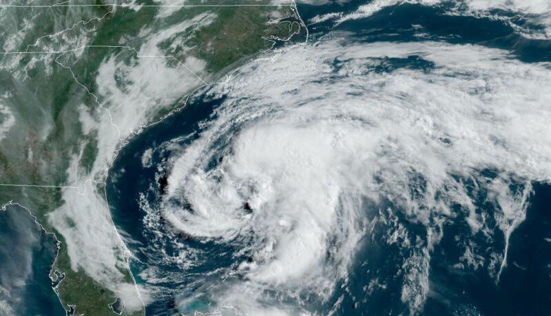 Photo of For the sixth year in a row, an Atlantic named storm forms early