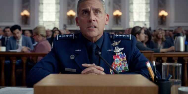 Photo of Failure is not an option in latest Space Force trailer