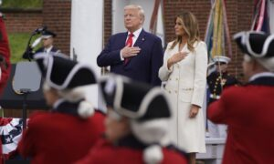 Photo of Trump Marks Memorial Day at Arlington Cemetery, Fort McHenry