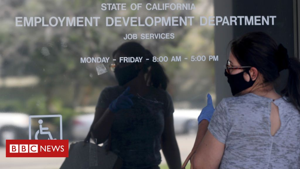 Photo of US unemployment sees surprise improvement in May
