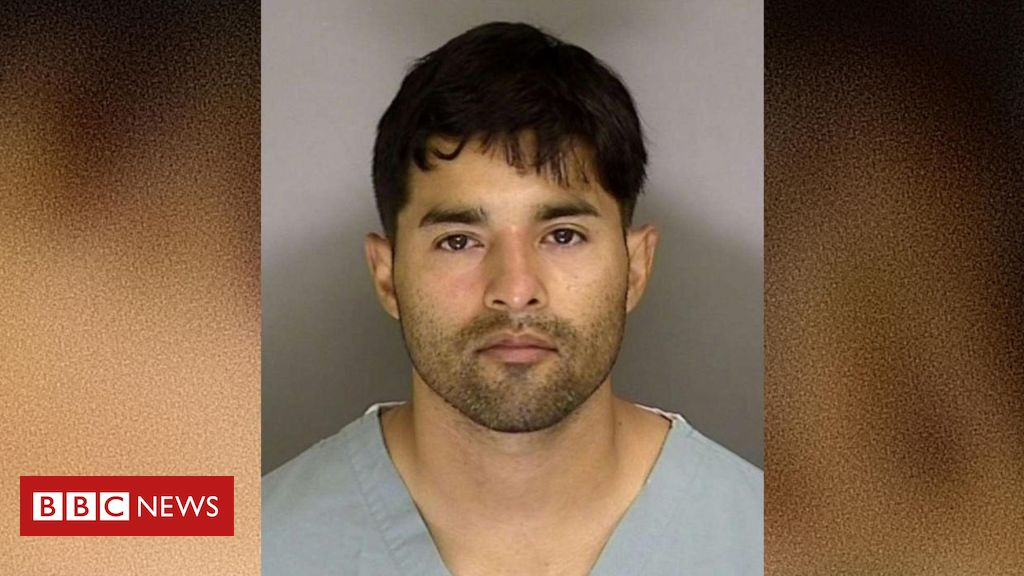 Photo of US Air Force sergeant charged in Boogaloo Bois murder