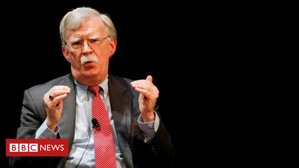 Photo of John Bolton: Trump sought Xi's help with re-election