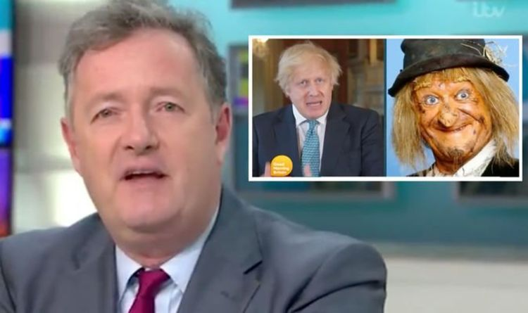 Photo of Piers Morgan outrages GMB viewers after disrespectful Boris jibe 'Scraping the barrel'