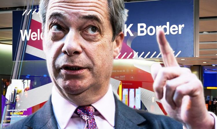 Photo of 'First betrayal' Farage rages at UK's plan to backtrack on full border controls with EU