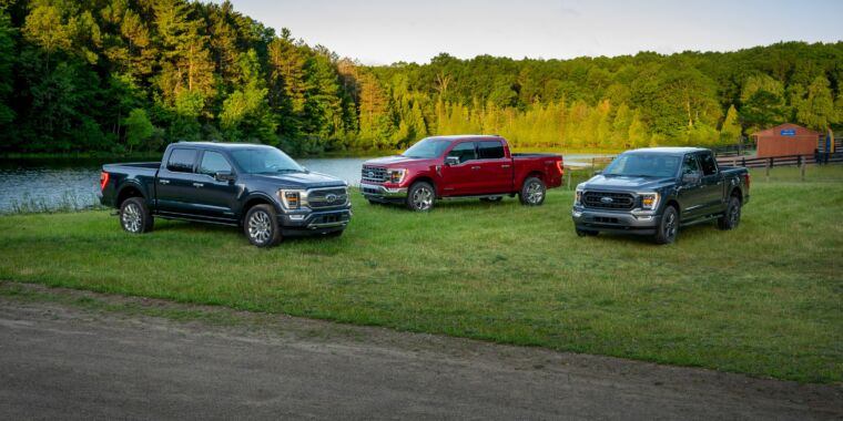 Photo of Everything we know about the new Ford F-150 truck—including the hybrid