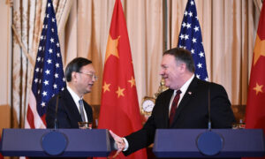 Photo of Pompeo Meeting With Top Chinese Diplomat in Hawaii