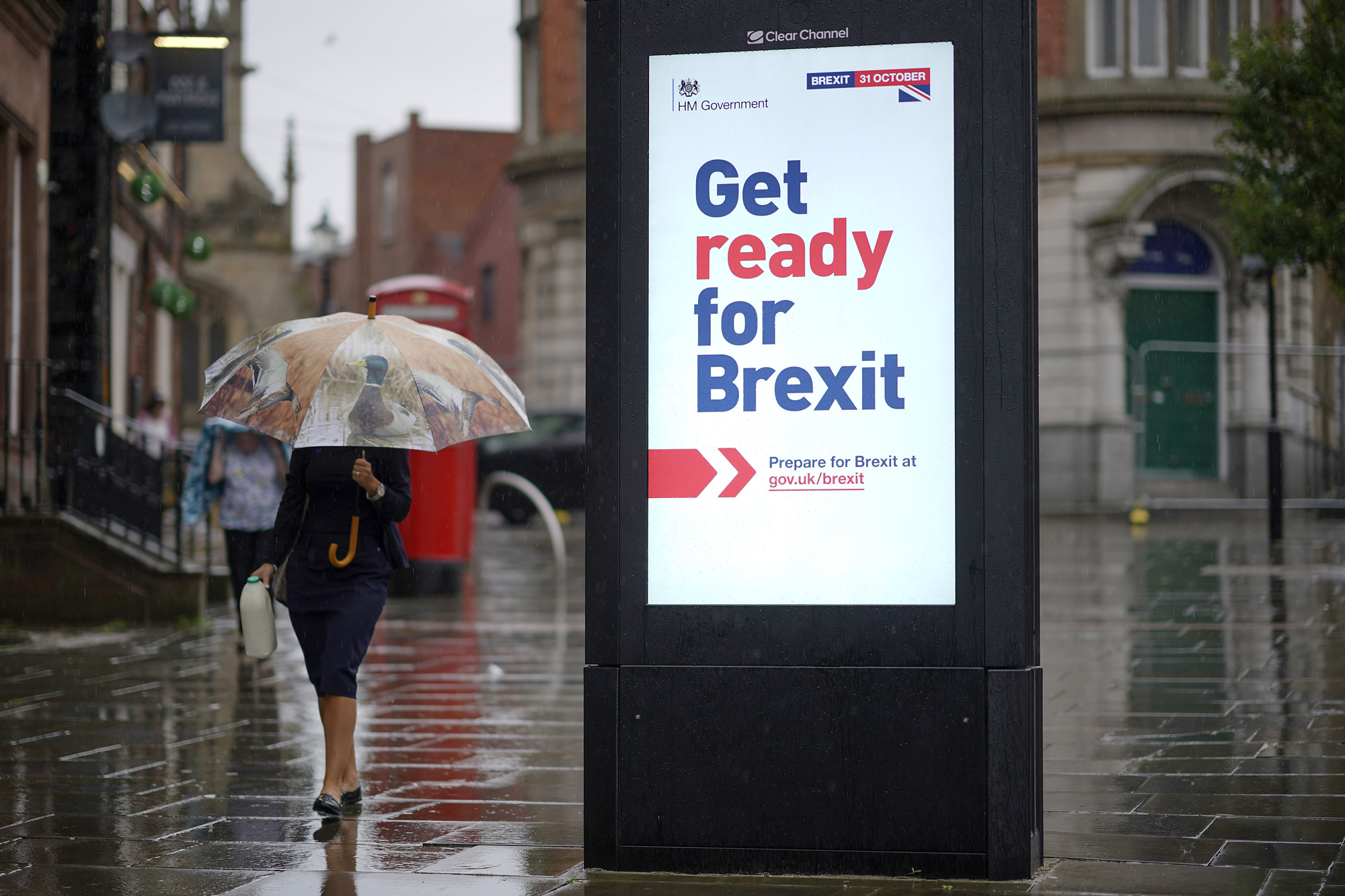 Photo of UK government preparing shock and awe Brexit media campaign