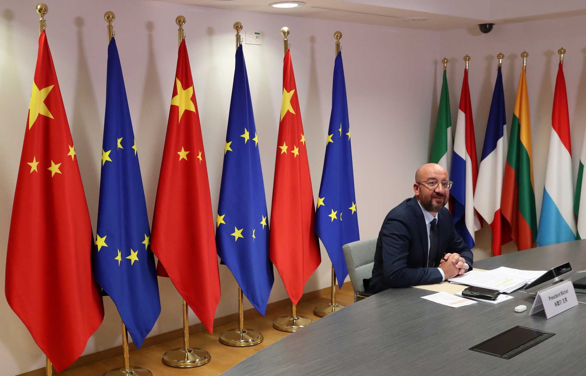 Photo of EU leaders face tough time getting tough on China