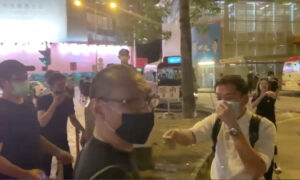 Photo of Epoch Times Staffer Attacked by Knife-Wielding Man in Hong Kong