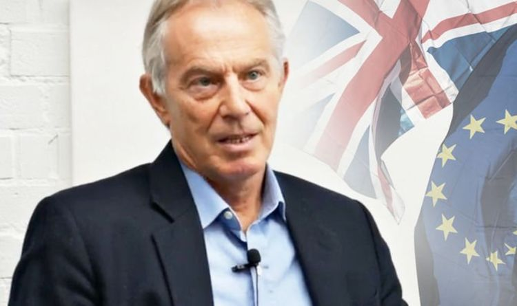 Photo of Brexit bombshell: Tony Blair says no deal now VERY likely after talks with 'EU contacts'
