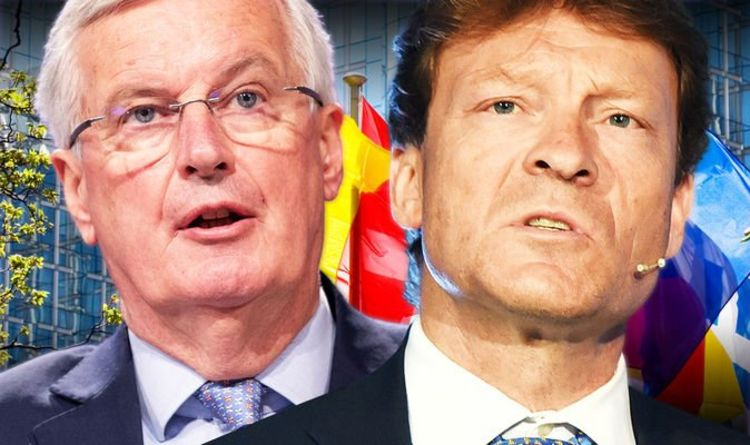 Photo of 'Petrified' EU facing crisis as Brexit success threatens to spell END of bloc, Tice warns