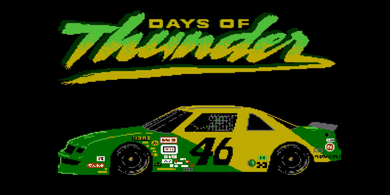 Photo of 30 years later, a lost Days of Thunder NES game recovered from 21 floppy disks