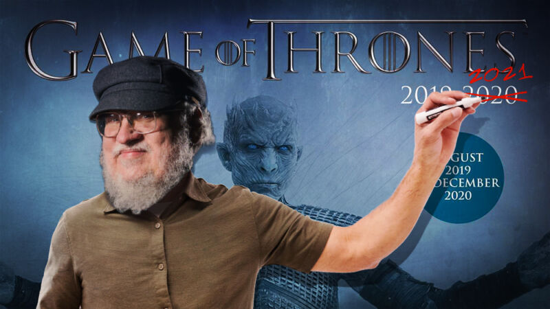 Photo of Wishful thinking: George R. R. Martin offers a new Winds of Winter estimate