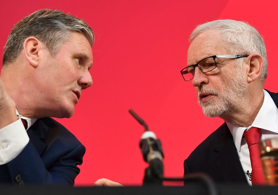 Photo of Jeremy Corbyn humiliated: Starmer faces down ex-boss over Long-Bailey outcry