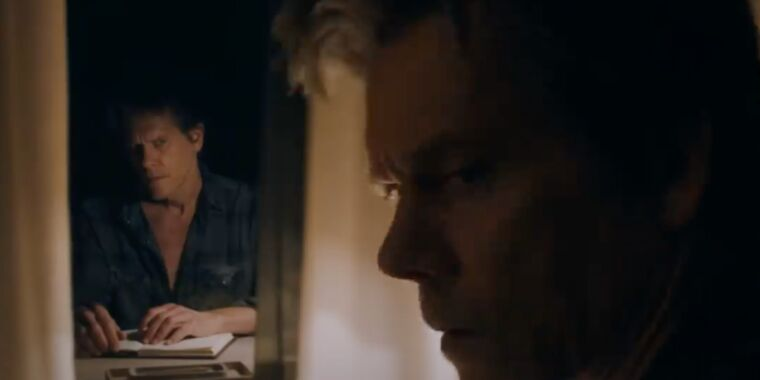 Photo of Kevin Bacon is a writer with a dark secret in You Should Have Left trailer
