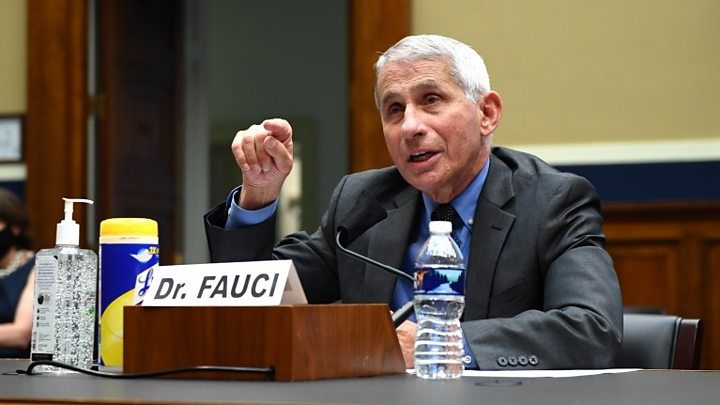 Photo of Top US health official Fauci warns of 'disturbing' new US surge