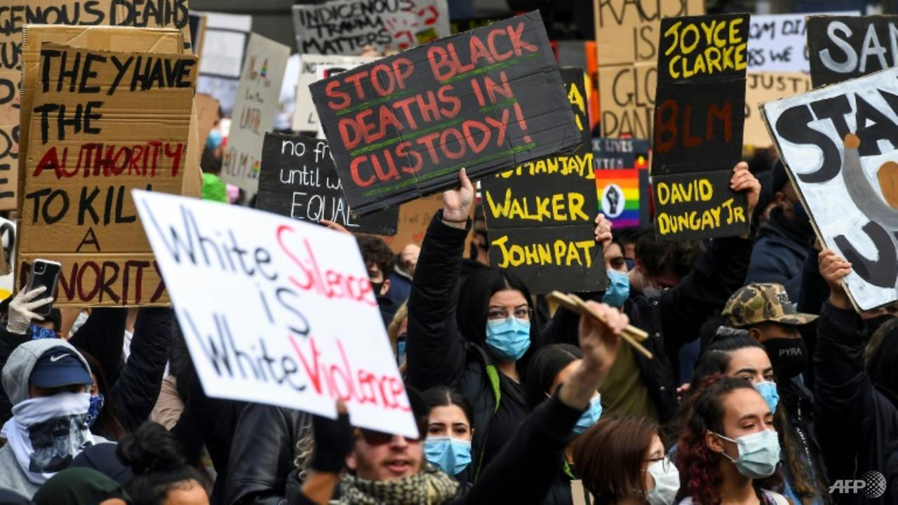 Photo of Global race protests mark George Floyd's death