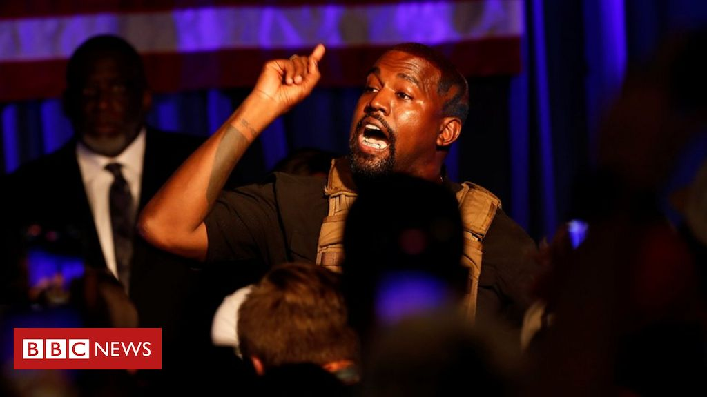 Photo of US election 2020: Kanye West launches unconventional bid for presidency