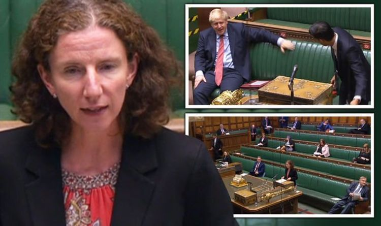 Photo of Commons erupts in laughter as Labour's Dodds responds to Sunak's huge budget announcement