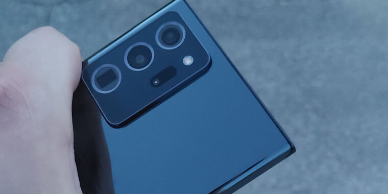 Photo of Get your first look at the Samsung Galaxy Note 20