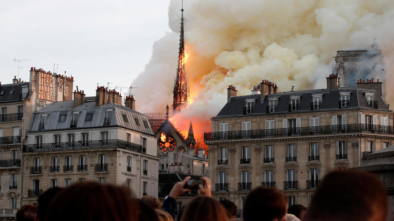 Photo of 'Consensus' that Notre-Dame spire should be rebuilt in original form