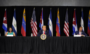 Photo of Venezuelan, Cuban Refugees Call on Trump to Help Free Their Countries From Communism