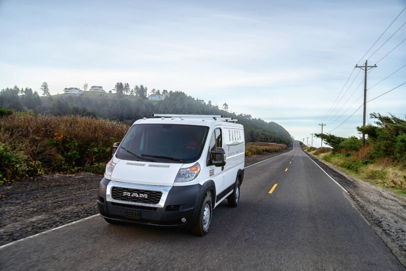 Photo of Waymo is working on autonomous Ram ProMaster Vans for goods deliveries