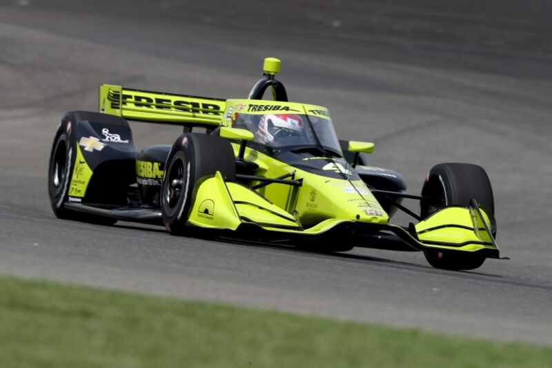 Photo of How one IndyCar driver turned his type 1 diabetes into an advantage