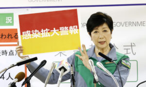 Photo of Tokyo Declares Coronavirus Red Alert as Situation Rather Severe