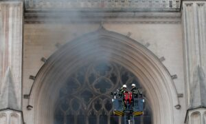 Photo of Arson inquiry launched for French cathedral fire in Nantes