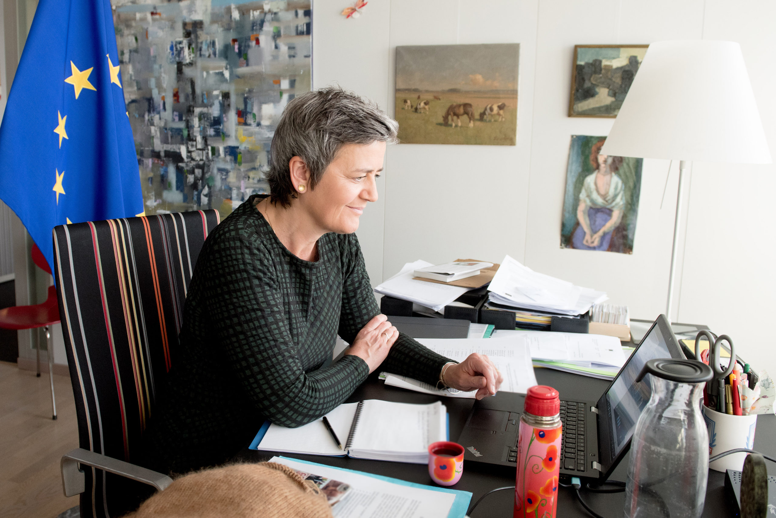 Photo of Vestager faces judgment day on her €13B Apple tax crusade