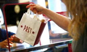 Photo of Britains Pret a Manger to Close 30 UK Shops, Could Cut Over 1,000 Jobs