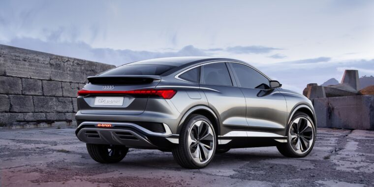 Photo of Audi to use modular electric platform for midsize Sportback crossover