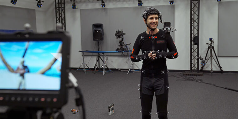 Photo of Unreals new iPhone app does live motion capture with Face ID sensors