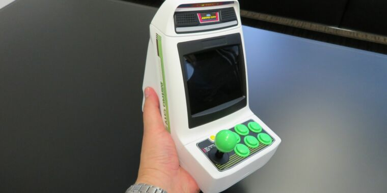 Photo of Segas next retro hardware is a 1/6th-scale multi-game arcade cabinet