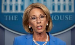 Photo of Education Secretary Vows to Have Schools Reopened in the Fall: Theyve Fallen Behind