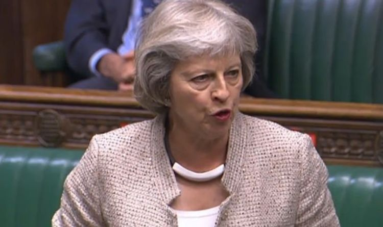 Photo of Theresa May slams appointment of David Frost to senior security role