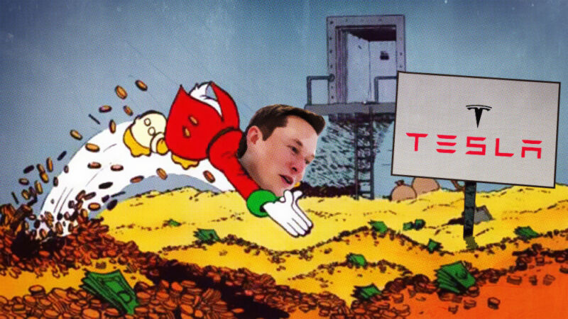 Photo of Stock surge makes Tesla the worlds most valuable automaker