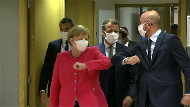 Photo of Coronavirus: Wrangling over huge EU recovery plan enters fourth day