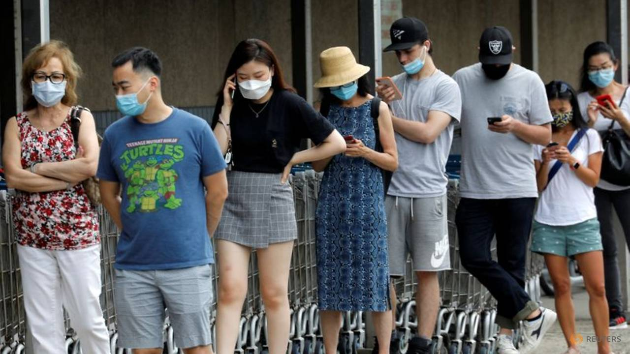 Photo of Worsening US outbreak prompts tough actions in states hit early in pandemic