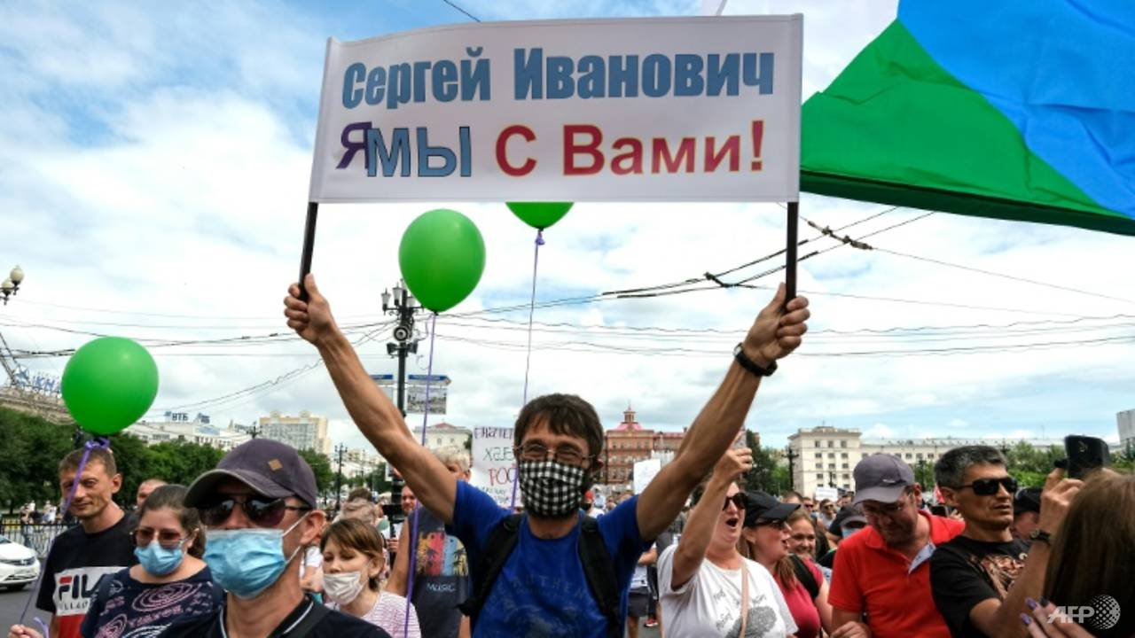 Photo of Mass anti-Kremlin rallies grip Russia's Far East