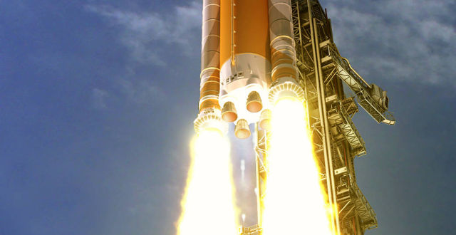 """Photo of NASA chief says hes """"very confident"""" in a 2021 launch date for SLS, but…"""