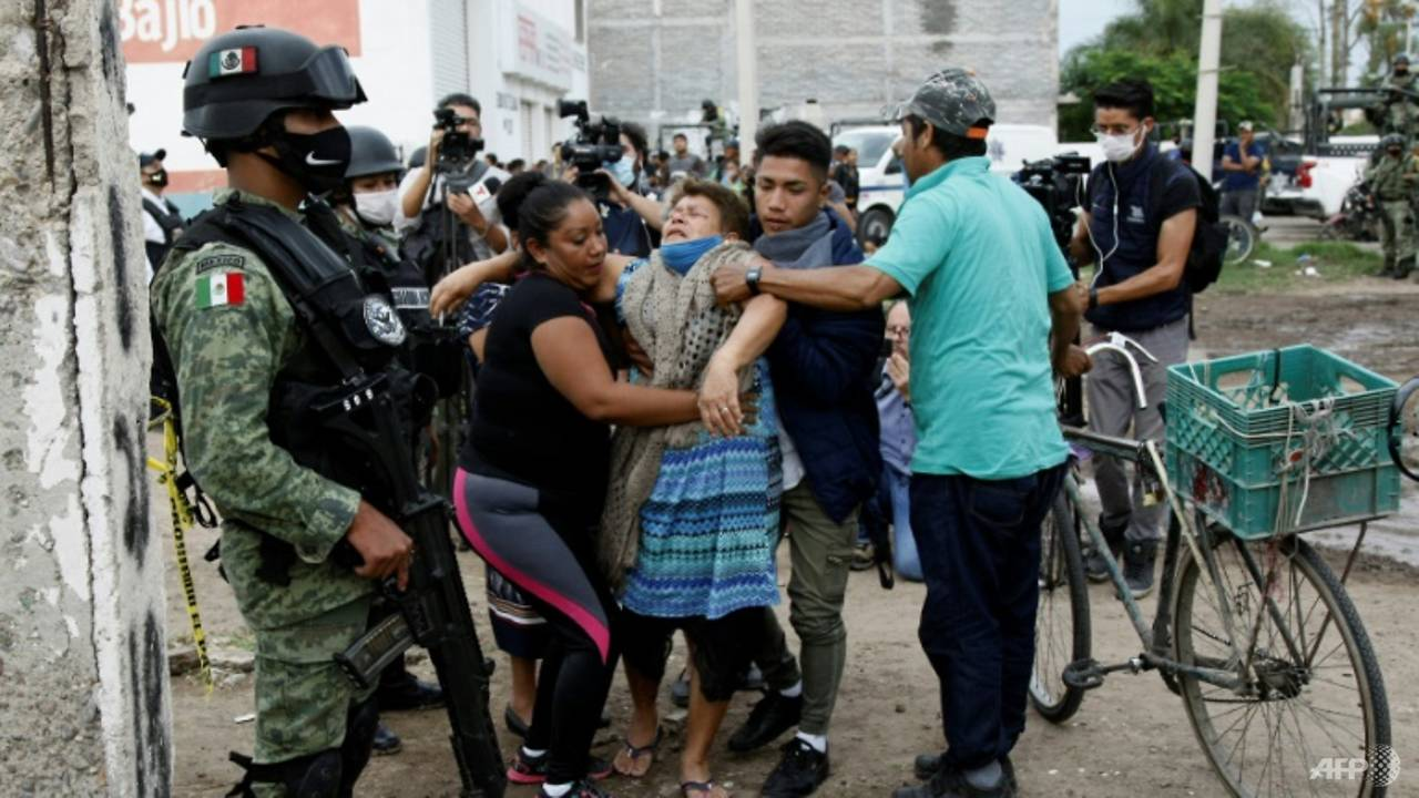 Photo of Mexican police arrest 3 over rehab centre attack that left 27 dead