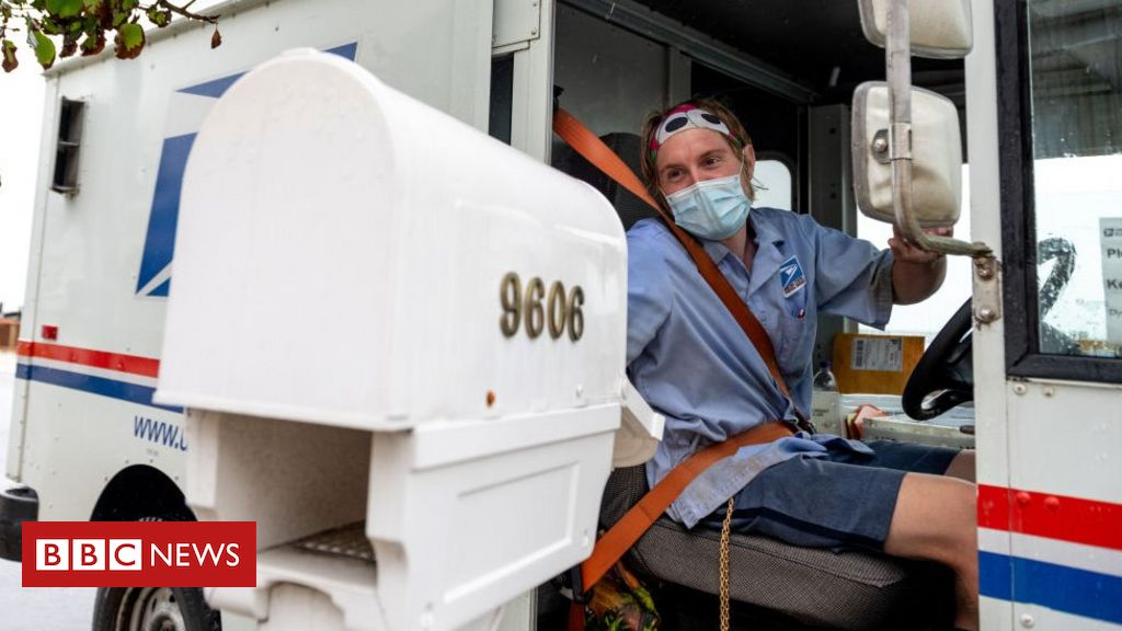 Photo of US 2020: Postal service warns of delays in mail-in vote count