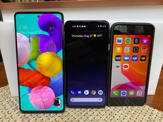 Photo of Forget $1,000 smartphones — here are three great options for under $400 from Apple, Google and Samsung