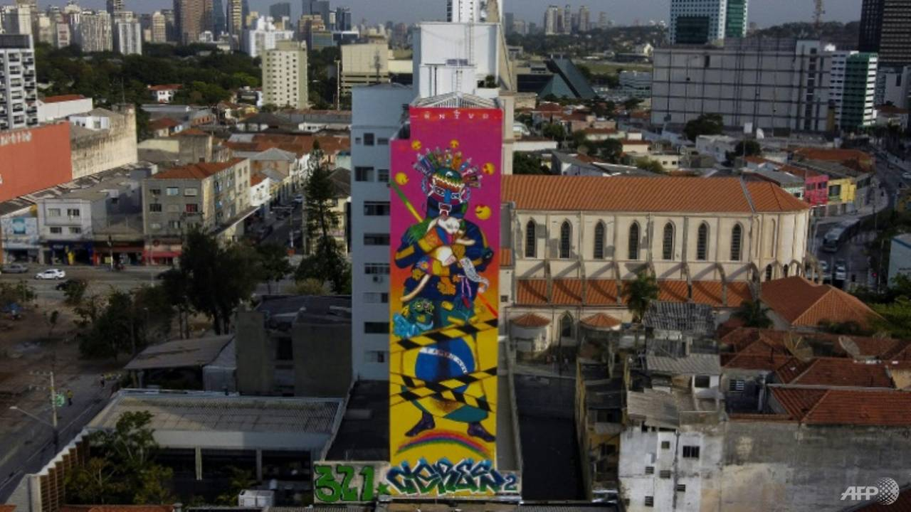 Photo of Street art thrives in Sao Paulo despite COVID-19 pandemic