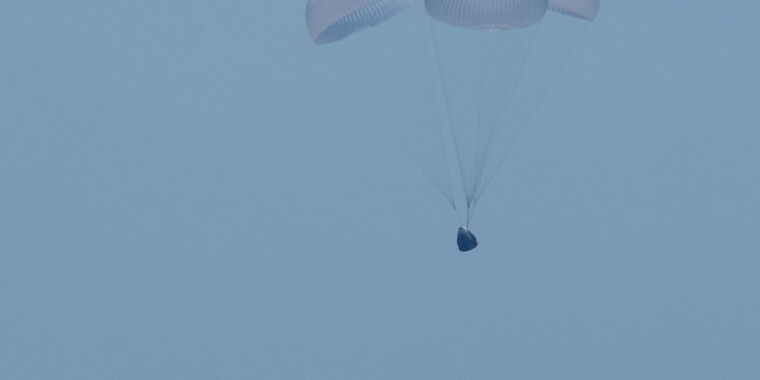 Photo of After a splendid flight test, NASA now has a new ride to space